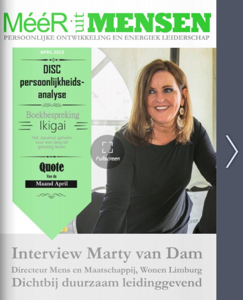 magazine Meer uit mensen april 2019