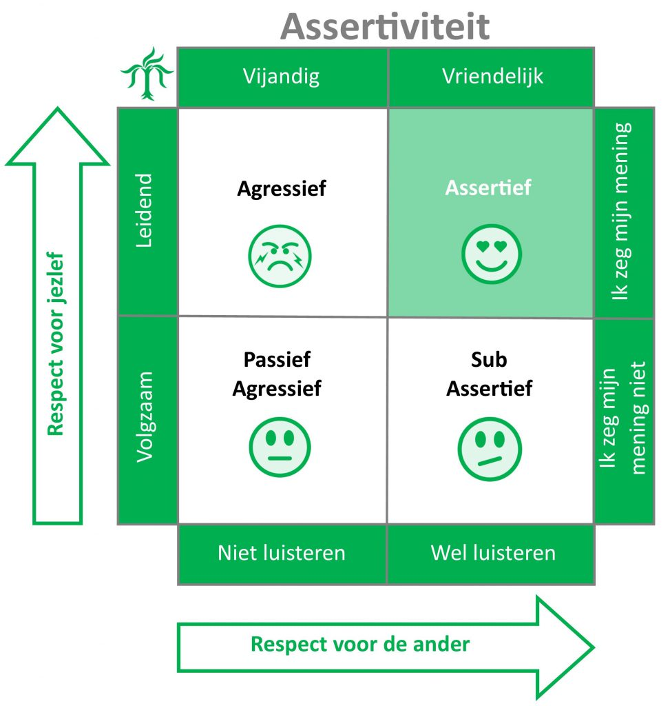 assertiviteit model