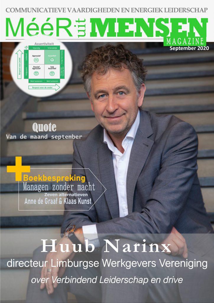 Huub Narinx Limburgse Werkgevers Vereniging LWV Leiderschap Magazine