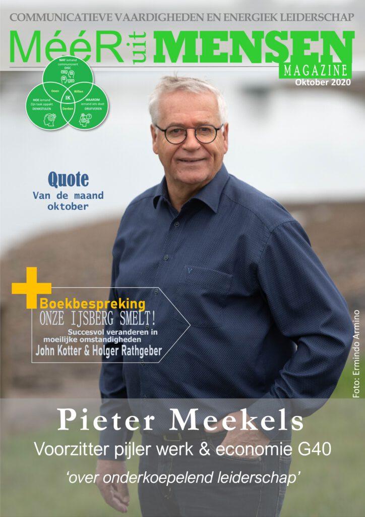 magazine leiderschap Pieter Meekels