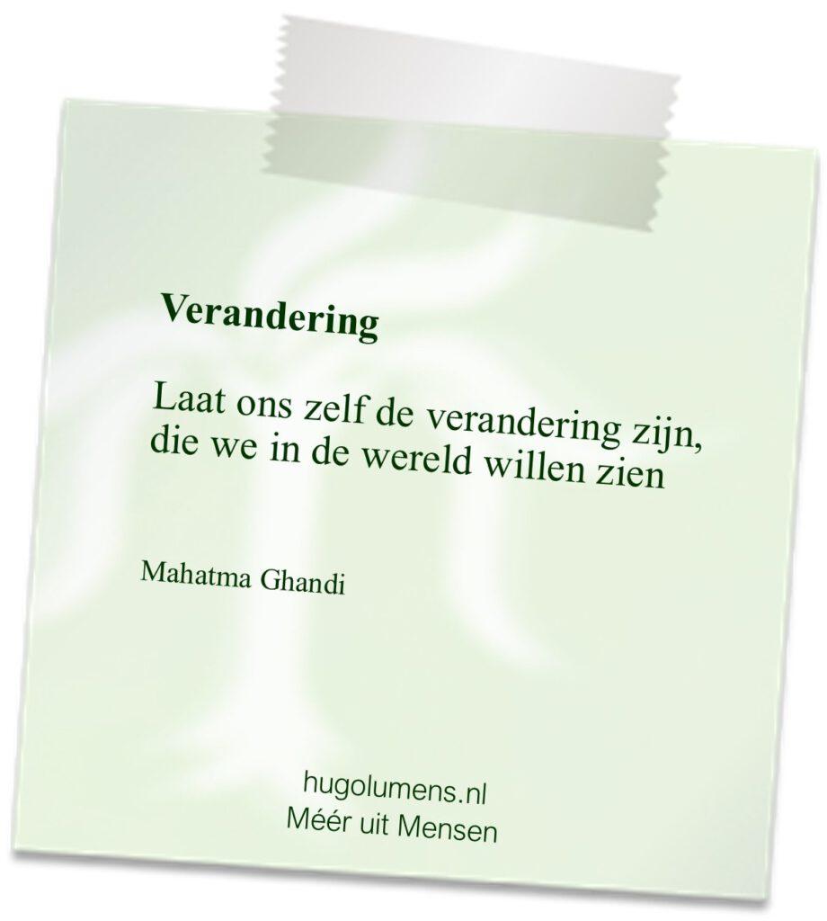 quote Mahatma Ghandi